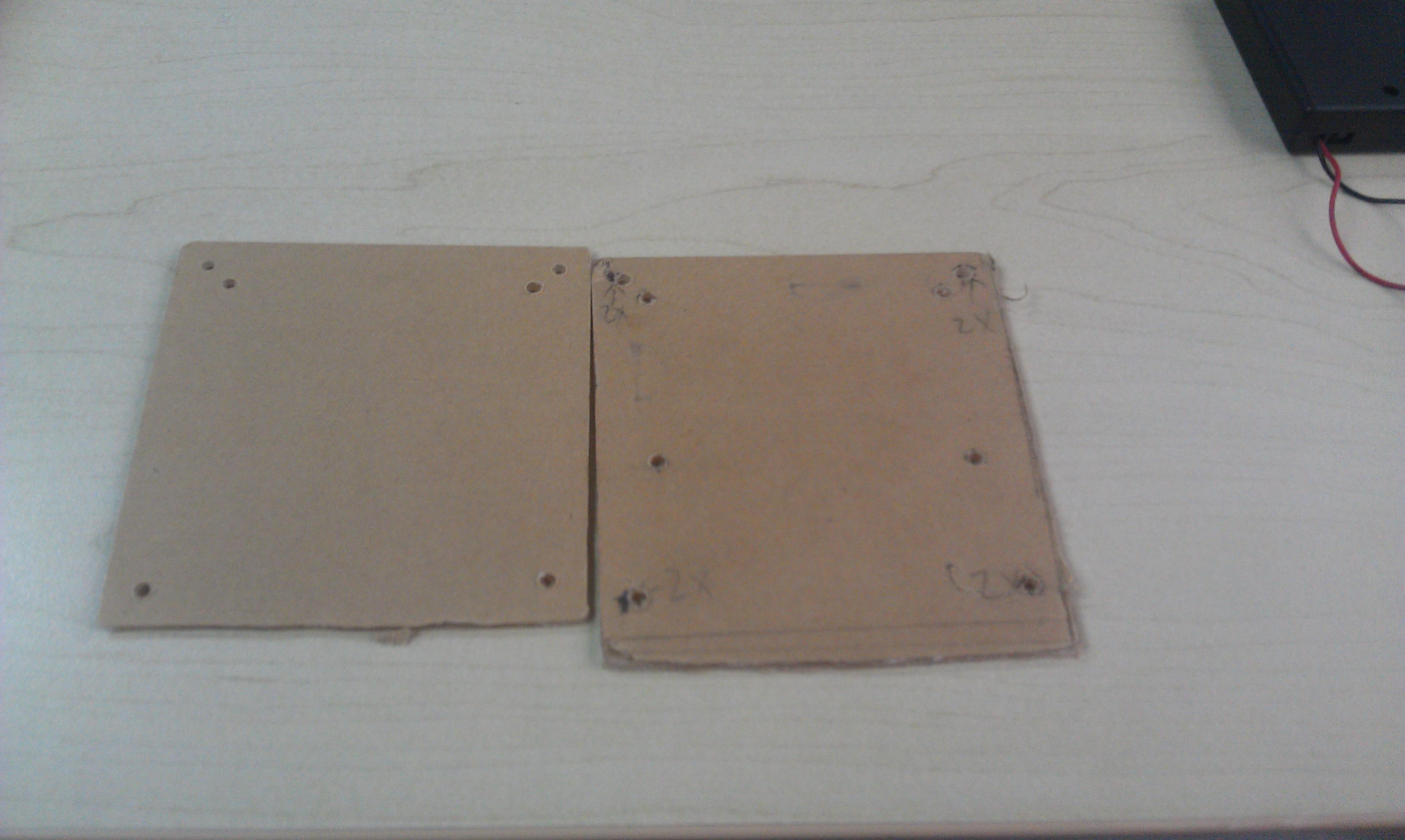 手工制作51单片机电子表,切割亚克力板