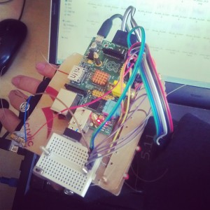 paspberry pi 手势 控制